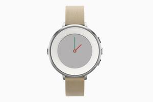 Стильные смарт-часы Pebble Time Round