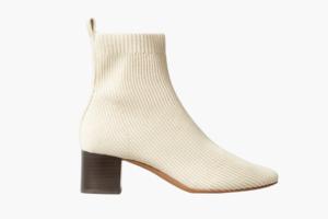 Ботильоны-носки из переработанного пластика