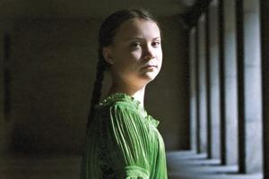 16-летняя Грета Тунберг стала героиней обложки Time
