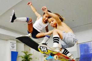 На кого подписаться: Инстаграм малолетних скейтеров Скай и Оушена