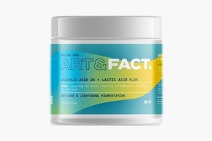 Очищающие и увлажняющие пэды для лица Art & Fact
