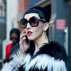 Стритстайл: Что носят на Нью-Йоркской неделе моды