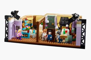 Набор Lego c апартаментами из сериала «Друзья»