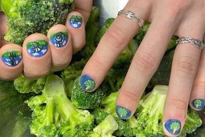 На кого подписаться: Яркий инстаграм с прикольными ногтями