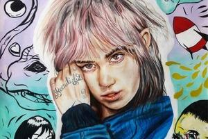 На кого подписаться: Инстаграм с рисунками Grimes и её фанатов
