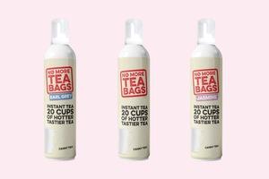 Британцы придумали заварку для чая в спрее