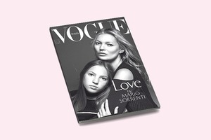 Кейт Мосс и её дочь Лила Грейс снялись для обложки Vogue