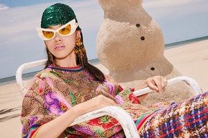 Хармони Корин снял рождественскую кампанию Gucci на круизном лайнере