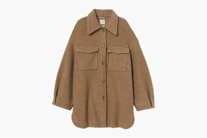 Объёмная куртка-рубашка H&M на все случаи жизни