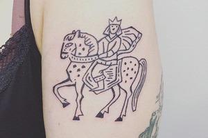Моя татуировка: Главред «Таких дел» Настя Лотарёва о рисунке из литовской сказки