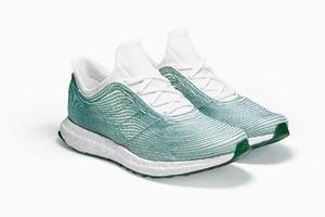 Кроссовки adidas x Parley  из переработанного мусора  со дна океана