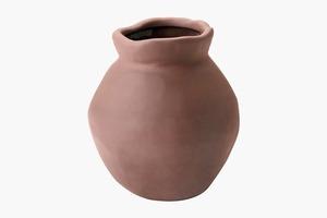 «Мятая» керамическая ваза ИКЕА