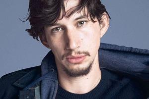 Адам Драйвер  потерял лицо  на обложке GQ