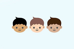 Создатели эмодзи дадут выбирать цвет кожи иконок
