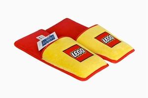 Мягкие тапочки с защитой ступней от деталей LEGO