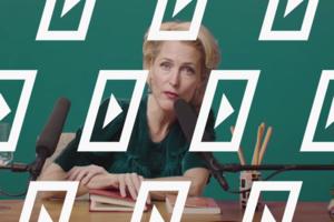 Видео дня: Позитивный ASMR-ролик Джиллиан Андерсон