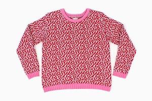 Теплые свитеры ALL Knitwear с геометричным узором