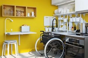 ИKEA представила проекты квартир для людей с инвалидностью