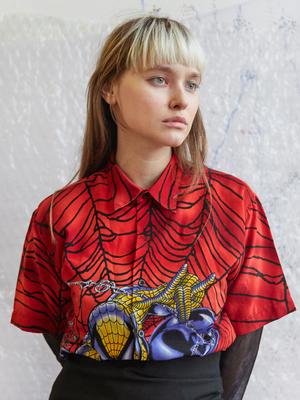 Графический дизайнер и художник Полина Беленчук о любимых нарядах
