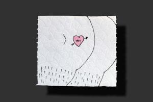 На кого подписаться: Инстаграм с рисунками на туалетной бумаге