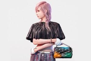 Лицом Louis Vuitton стала героиня Final Fantasy