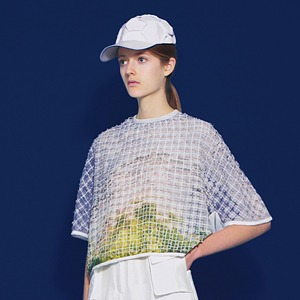 Фотопринты и перфорация на одежде Steven Tai