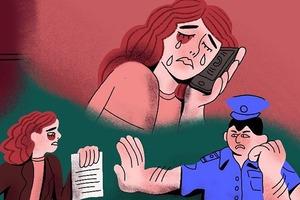 В закладки: Проект «Шестнадцать женщин» с историями о домашнем насилии