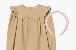 Комбо: Широкий ободок и блузка