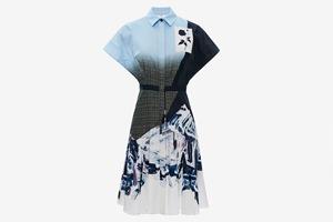 Платье-рубашка Prabal Gurung