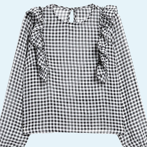 10 прозрачных блузок от простых до роскошных
