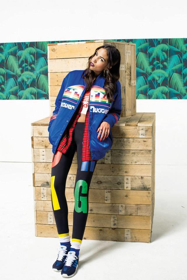 Новый лукбук Adidas Originals — в стиле вогинг. Изображение № 8.