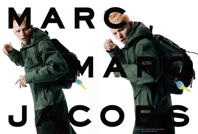 Marc by Marc Jacobs опять нашли моделей в соцсетях. Изображение № 2.