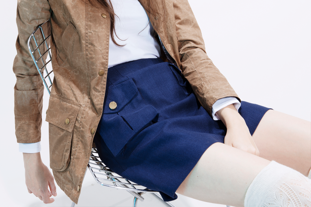 Как и с чем носить короткие юбки. Изображение № 12.