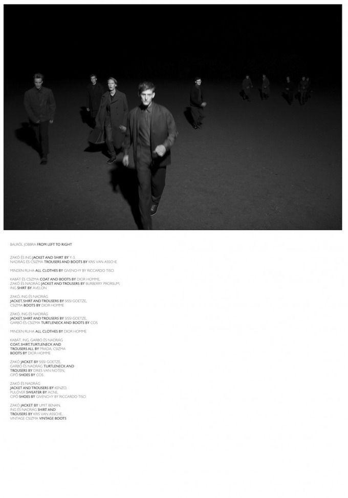 Вышли мужские съемки Arena Homme+, Hero, The Room, GQ и Essential Homme. Изображение № 4.