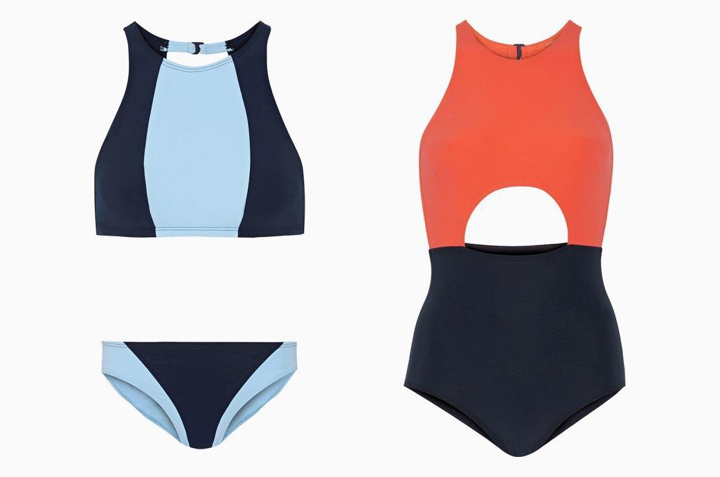 Flagpole Swim:  Лаконичные купальники  для спорта и отдыха. Изображение № 3.