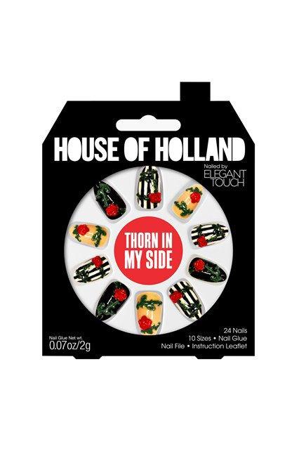 House of Holland и Elegant Touch сделали классные накладные ногти. Изображение № 8.