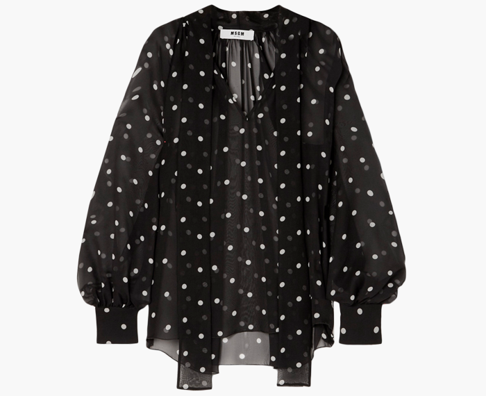 Прозрачные блузки:  От простых до роскошных. Изображение № 7.