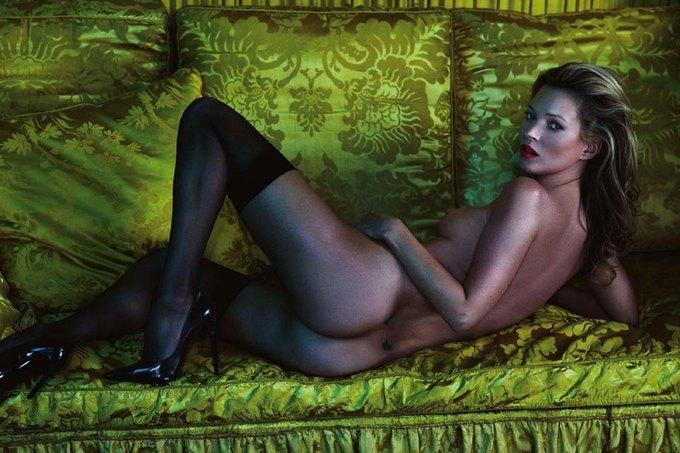 Кейт Мосс снялась для юбилейного номера Playboy. Изображение № 4.