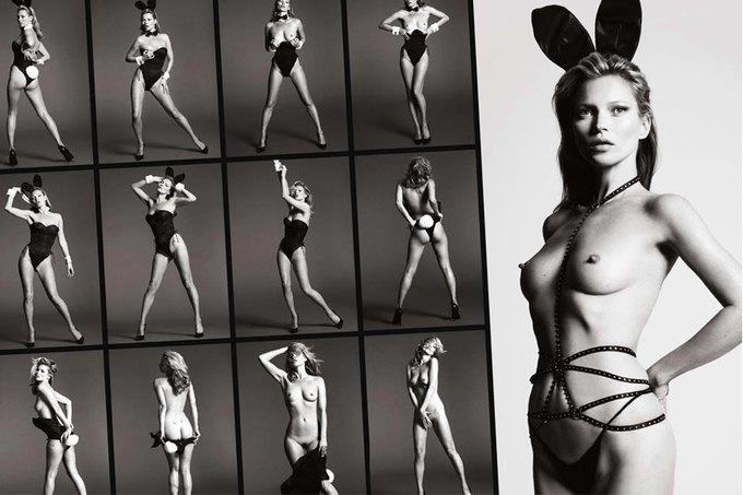 Кейт Мосс снялась для юбилейного номера Playboy. Изображение № 6.