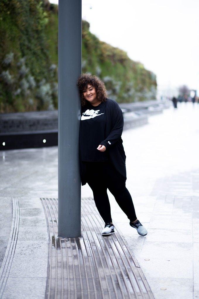Nike запустили линию спортивной одежды больших размеров. Изображение № 18.