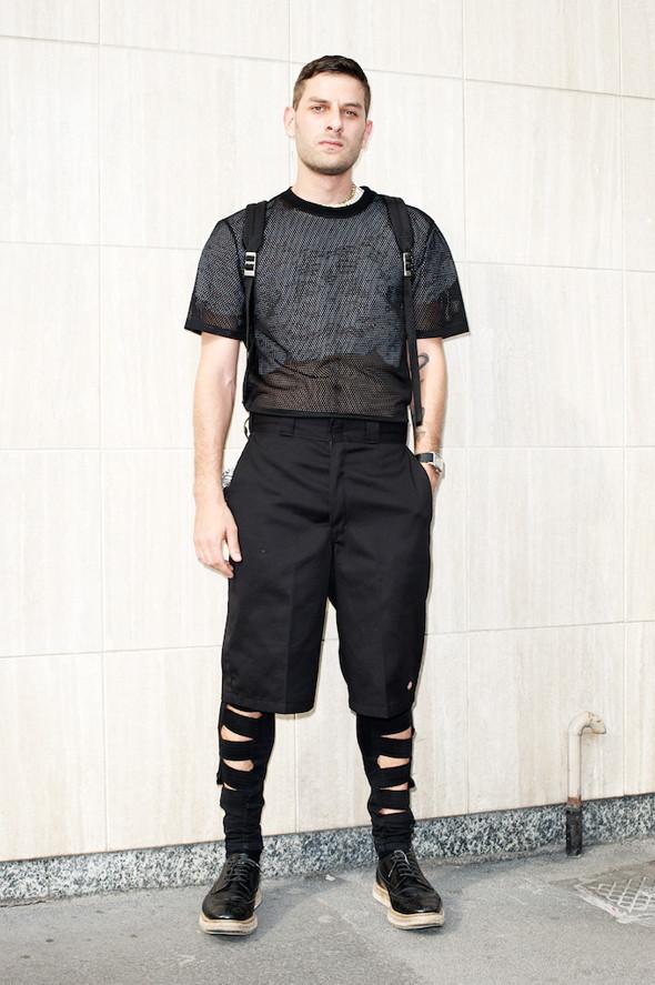 Стрит-стайл: Неделя мужской моды в Милане. Изображение № 25.