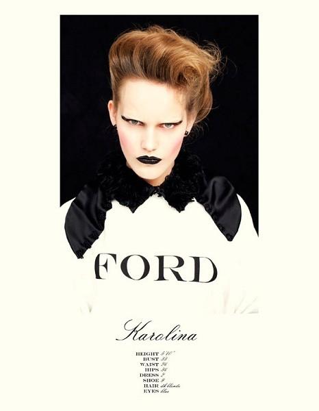 Композитки пяти модельных агентств к Нью-Йоркской неделе моды. Изображение № 53.