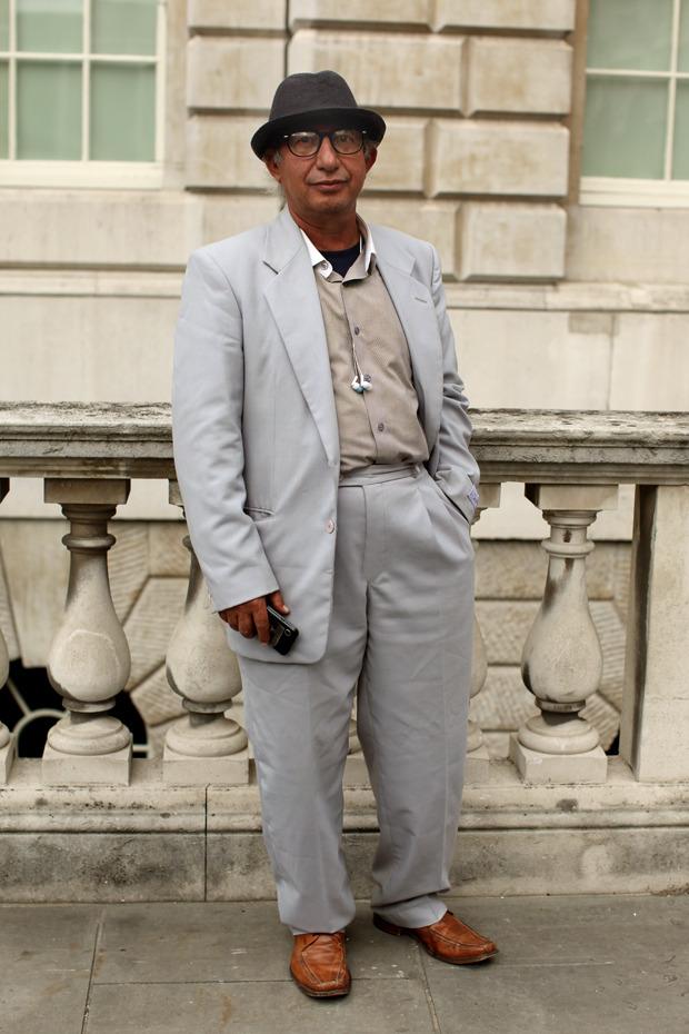 Streetstyle: Неделя моды в Лондоне, часть 1. Изображение № 2.