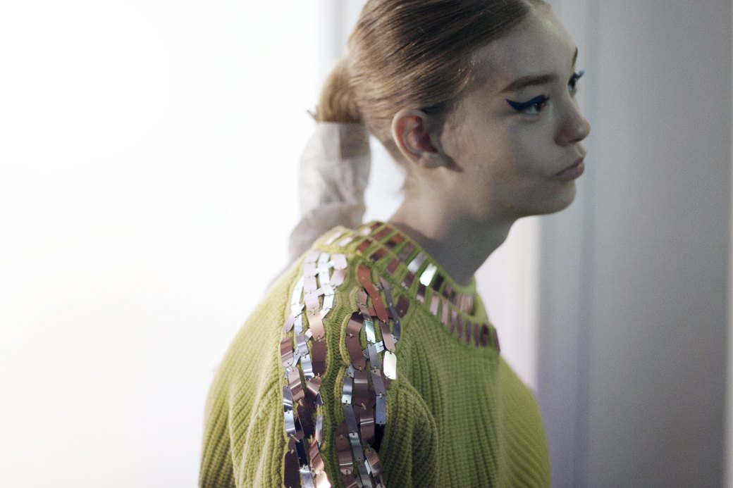 Paris Fashion Week FW 14: Бэкстейдж показа Kenzo. Изображение № 9.