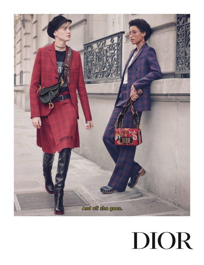 Dior показал кампанию в духе фильмов французской новой волны. Изображение № 3.