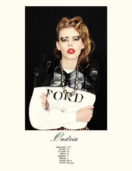 Композитки пяти модельных агентств к Нью-Йоркской неделе моды. Изображение № 49.