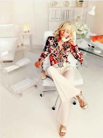 Певица Мадонна в рекламной кампании Versace. Изображение № 60.