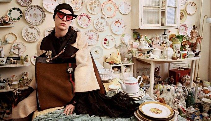 Gucci выпустили новую кампанию, посвящённую коллекционерам. Изображение № 6.