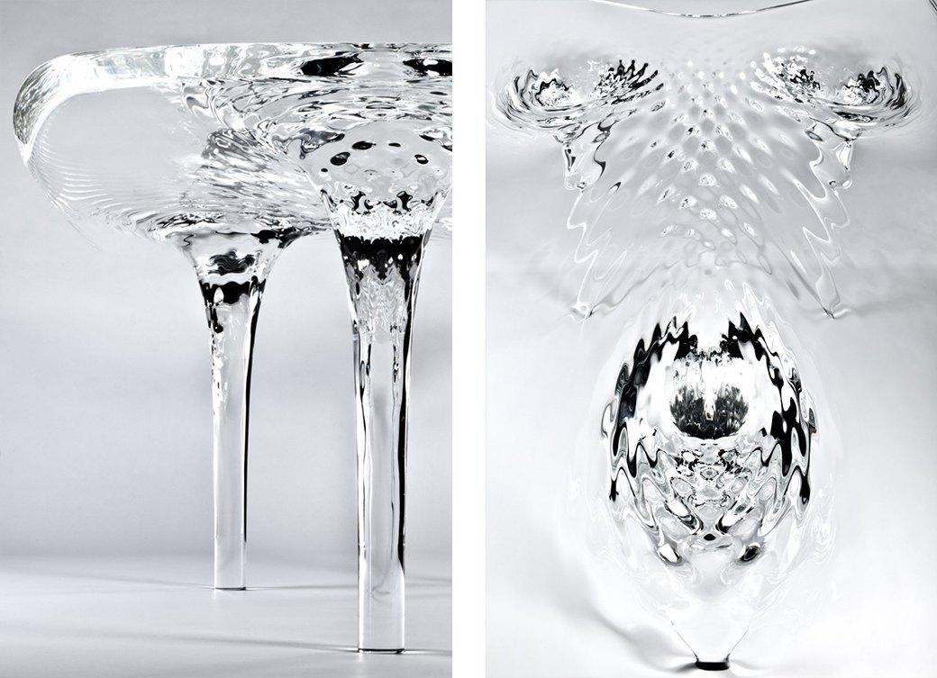 Коллекция «ледяной» мебели Захи Хадид. Изображение № 12.