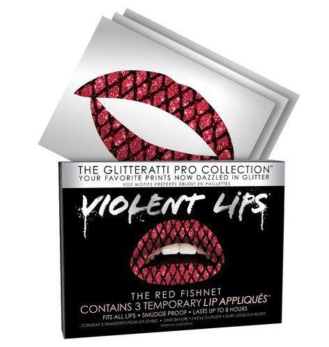 Переводные  татуировки для губ  Violent Lips. Изображение № 5.